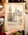 Bức tranh của trùm phát xít Hitler được bán với giá cao tại Đức