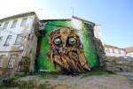 Độc đáo nghệ thuật con cú trên phố