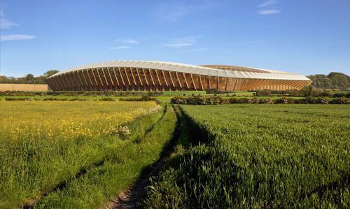 Sân vận động bóng đá xanh nhất thế giới