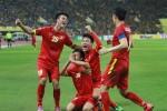 Việt Nam chưa từng thua Malaysia ở vòng bảng AFF Cup
