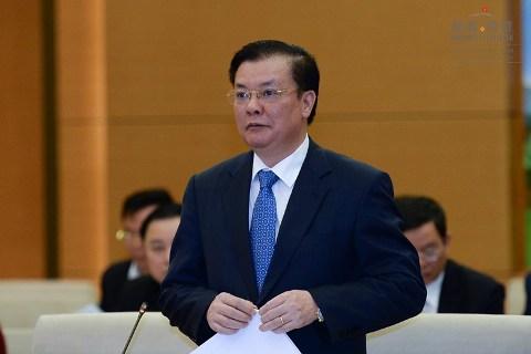 Bộ trưởng Đinh Tiến Dũng giải trình vấn đề tỉ lệ thu ngân sách/GDP