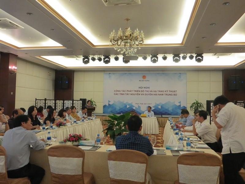 Bộ Xây dựng: Tổ chức hội nghị công tác quản lý Nhà nước lĩnh vực phát triển đô thị và hạ tầng kỹ thuật