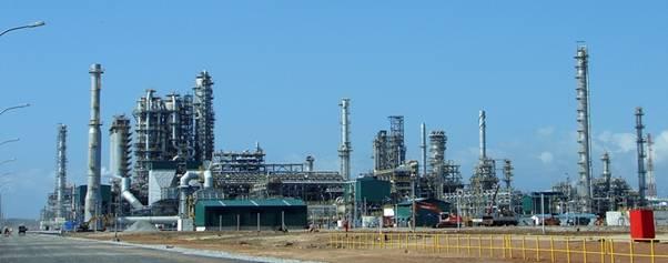 Kiểm tra công tác nghiệm thu tiểu dự án phục vụ Dự án nâng cấp mở rộng nhà máy lọc dầu Dung Quất