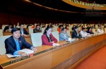 Quốc hội thông qua Nghị quyết đầu tư một số đoạn đường bộ cao tốc tuyến Bắc-Nam