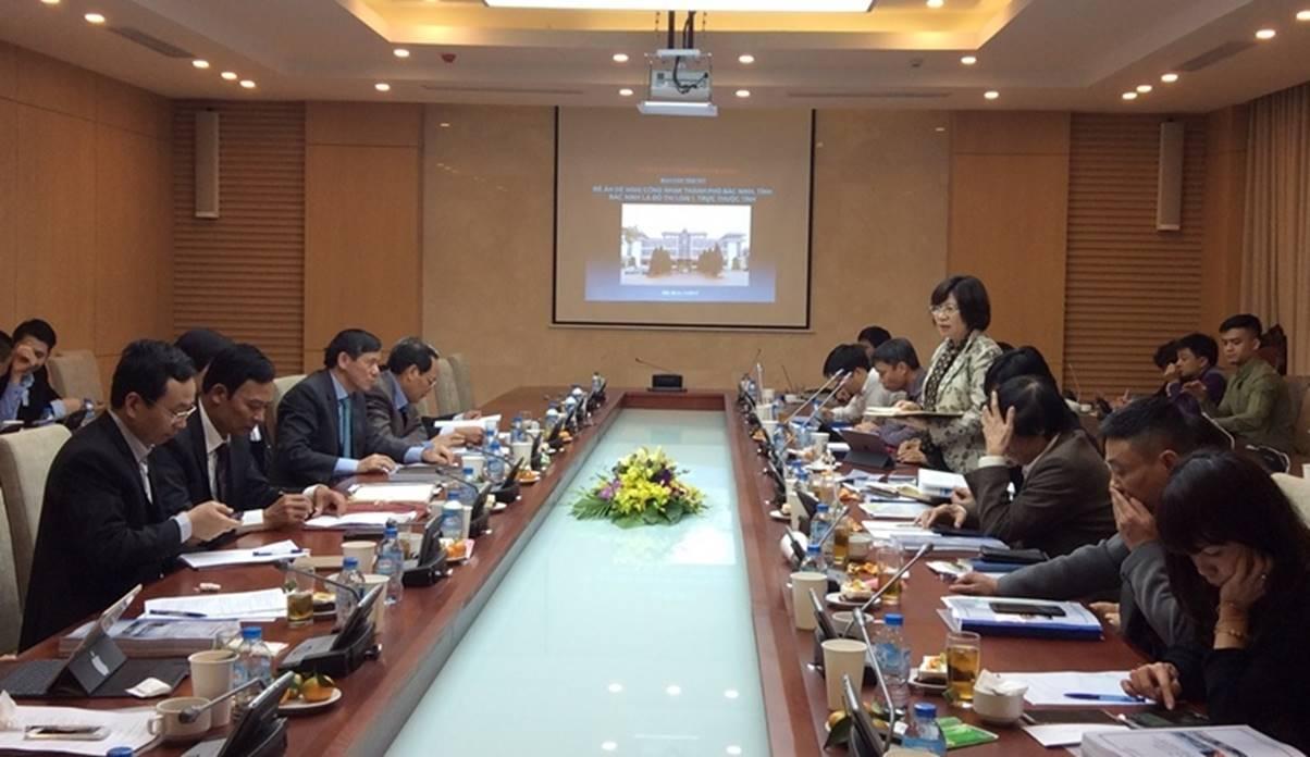 TP Bắc Ninh đạt chuẩn đô thị loại I trực thuộc tỉnh