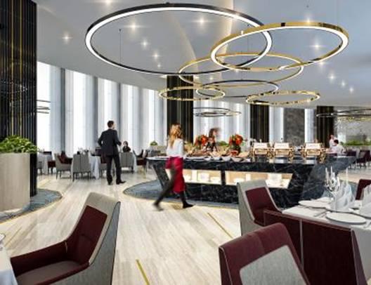 Hệ thống nhà hàng sang trọng với ẩm thực Âu – Á thượng hạng