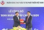 Ông Phan Đức Tú chính thức giữ ghế Chủ tịch HĐQT Ngân hàng BIDV