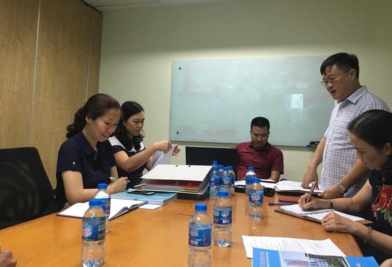 Ủy ban Kiểm tra Công đoàn Xây dựng Việt Nam kiểm tra tại các Công đoàn trực thuộc khu vực phía Nam