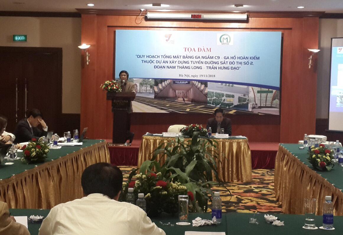 Dự án xây dựng tuyến đường sắt đô thị số 2 Hà Nội: Các chuyên gia đồng thuận về vị trí ga C9