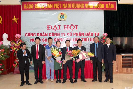 Đại hội Công đoàn Cty CP Đầu tư Nước sạch Sông Đà lần thứ III nhiệm kỳ 2018 - 2023
