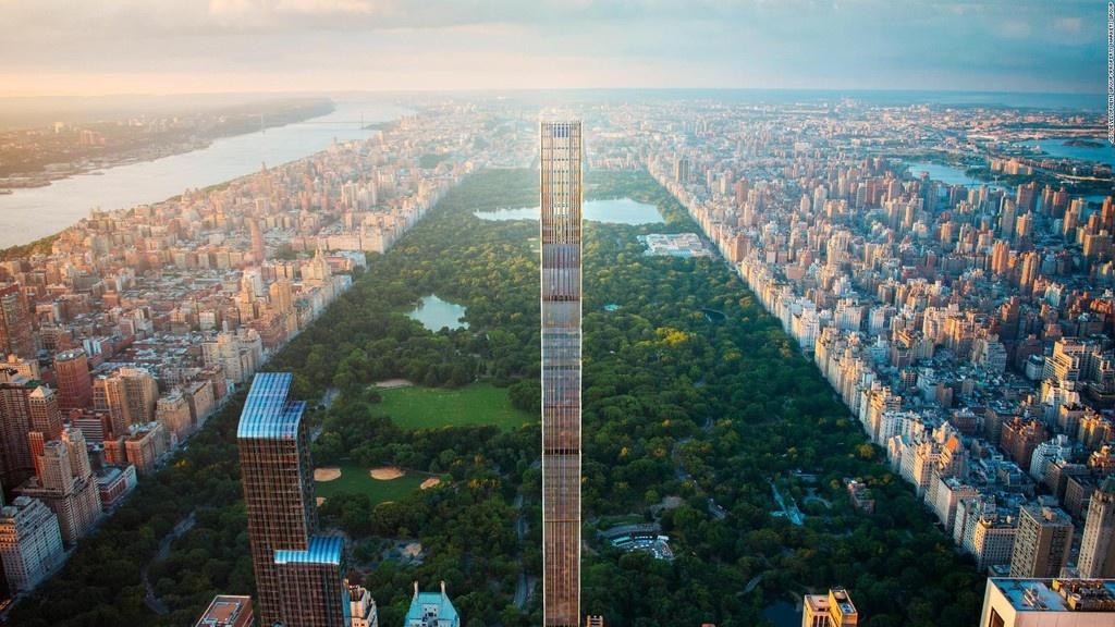 Bên trong cao ốc 435 m mỏng nhất thế giới
