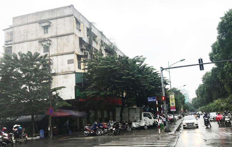 Hà Nội: Nhà C4 Giảng Võ bao giờ được xây dựng lại?
