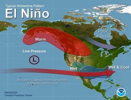 Cảnh báo sớm El Nino nhờ sử dụng thuật toán
