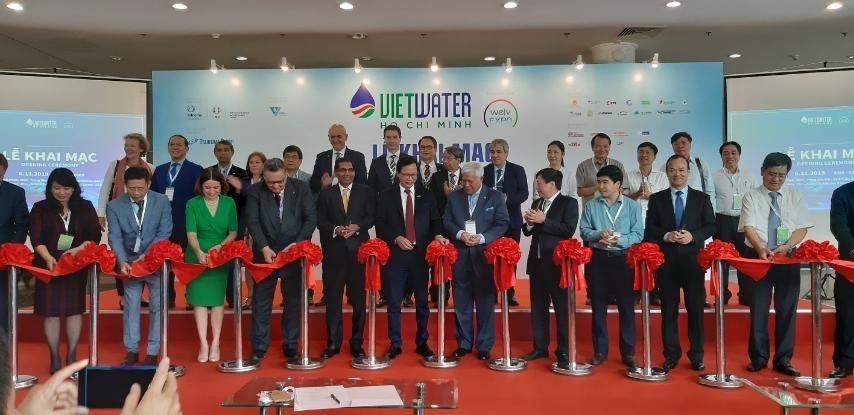 Thành phố Hồ Chí Minh: Khai mạc triển lãm Vietwater 2019