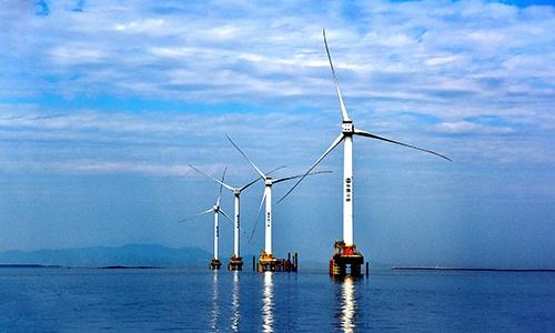Trung Quốc phát triển turbine gió ngoài khơi lớn nhất