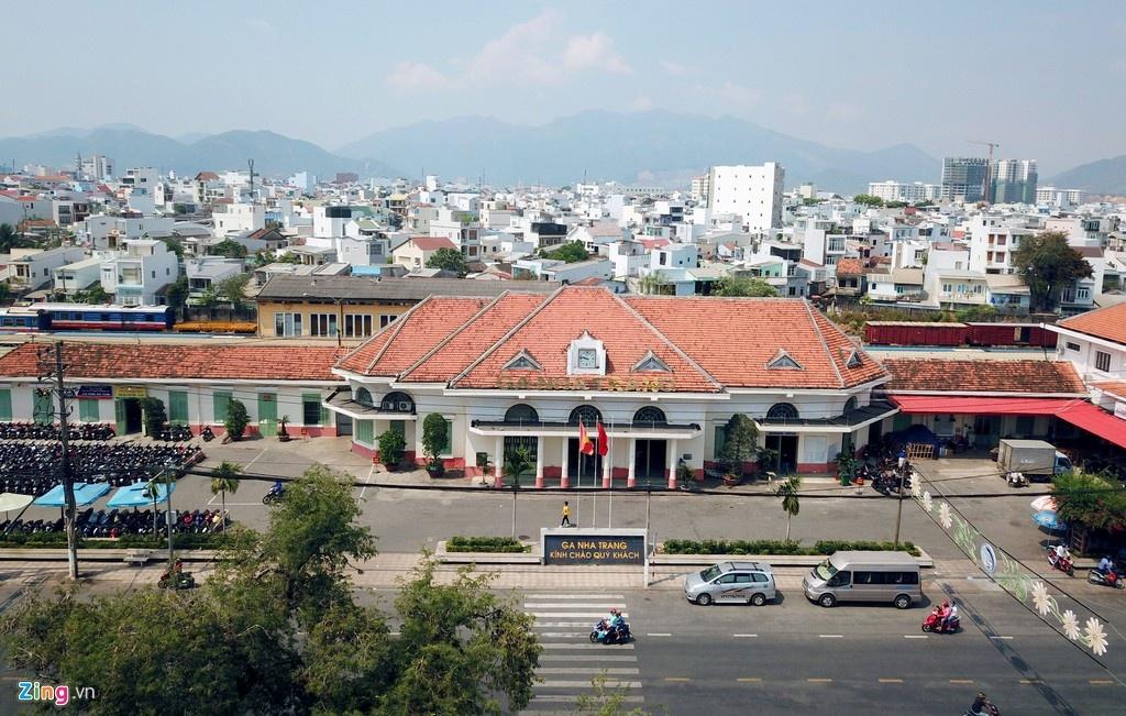 Nhà ga 80 tuổi ở Nha Trang trước đề xuất di dời