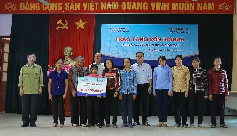 Tập đoàn Sơn Hà góp phần đổi mới bộ mặt nông thôn