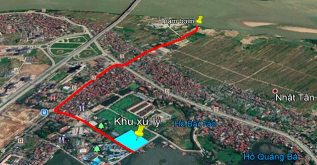 """Hà Nội muốn """"hồi sinh"""" sông Tô Lịch bằng nước sông Hồng"""