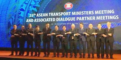 Hội nghị Bộ trưởng Giao thông Vận tải các nước ASEAN lần thứ 25