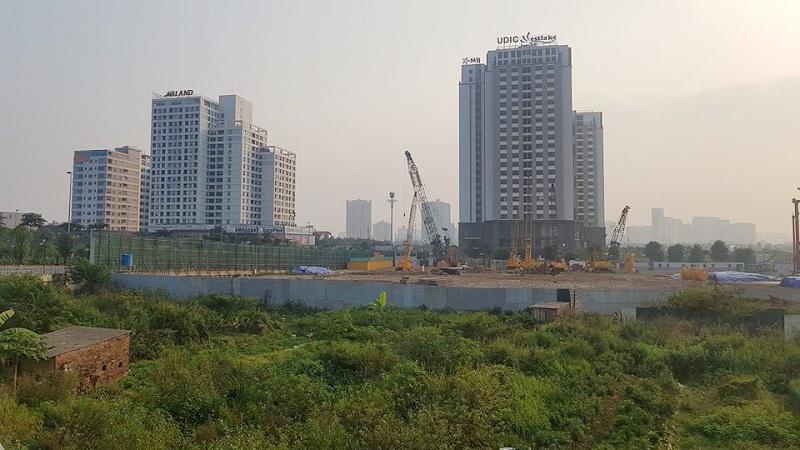 Hà Nội: Dự án The  Lotus Center thi công không phép, chào bán rầm rộ