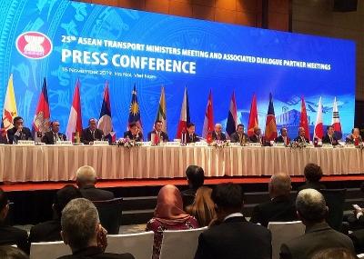 Kết thúc hội nghị Bộ trưởng Giao thông vận tải ASEAN 25: Mở ra cơ hội hợp tác toàn ASEAN