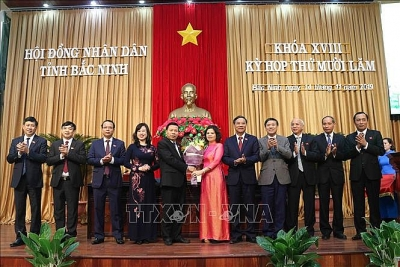 Bắc Ninh có nữ Chủ tịch UBND tỉnh