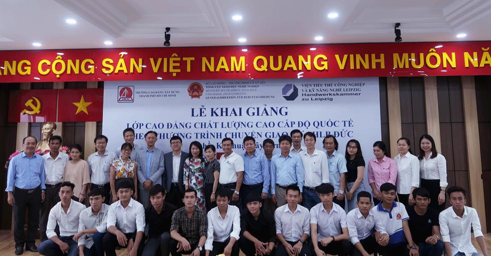 Trường Cao đẳng Xây dựng thành phố Hồ Chí Minh: Khai giảng lớp Cao đẳng chất lượng cao ngành Kỹ thuật xây dựng