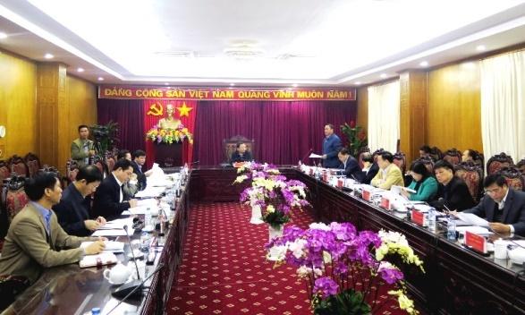 Bắc Kạn: Rà soát quy hoạch nhân sự cấp ủy cho Đại hội Đảng bộ các cấp