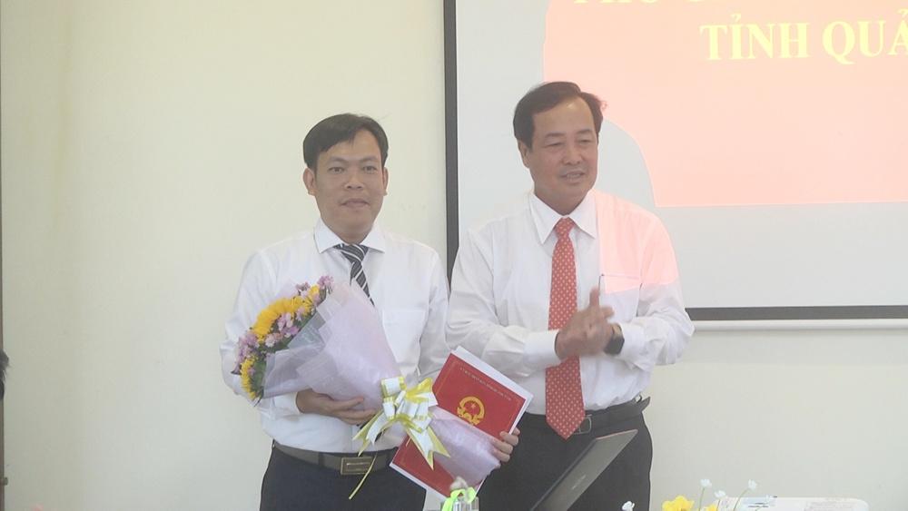 Bổ nhiệm Phó Giám đốc Sở Xây dựng tỉnh Quảng Nam
