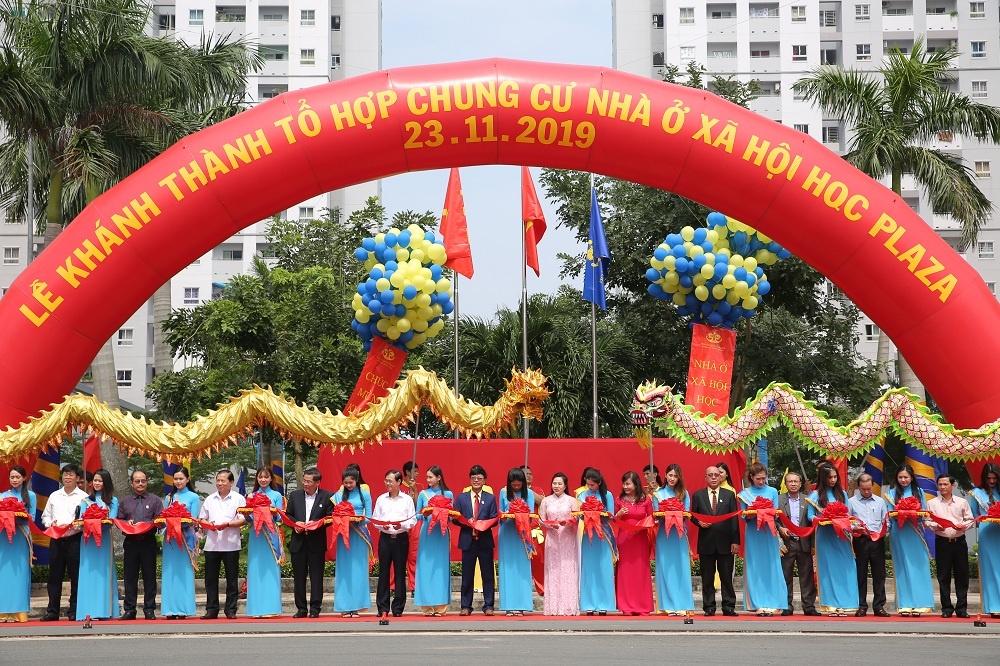 Khánh thành dự án HQC Plaza – Tổ hợp chung cư nhà ở xã hội quy mô lớn nhất thành phố Hồ Chí Minh