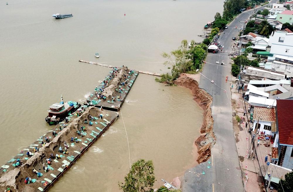 Khai thác nước ngầm quá mức vùng Đồng bằng sông Cửu Long