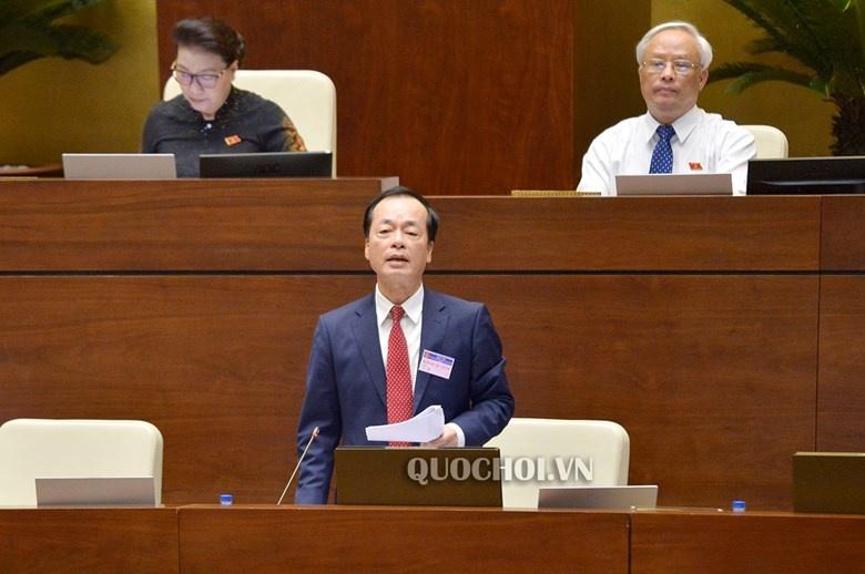 Bộ trưởng Phạm Hồng Hà giải trình trước Quốc hội về dự án Luật Xây dựng sửa đổi