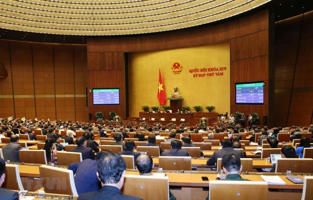 Quốc hội khóa XIV: Thông qua Nghị quyết về công tác tư pháp
