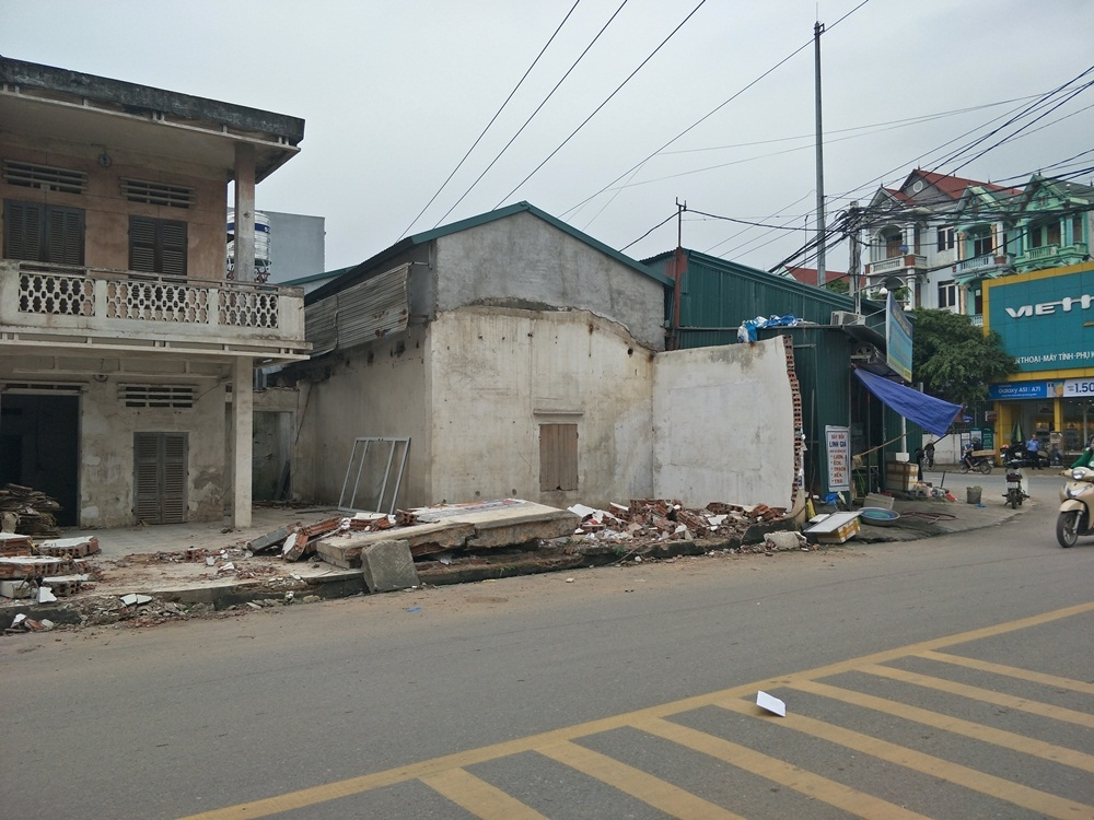 Vĩnh Tường (Vĩnh Phúc): Sẽ tháo dỡ các công trình xây dựng trái phép ở xã Đại Đồng
