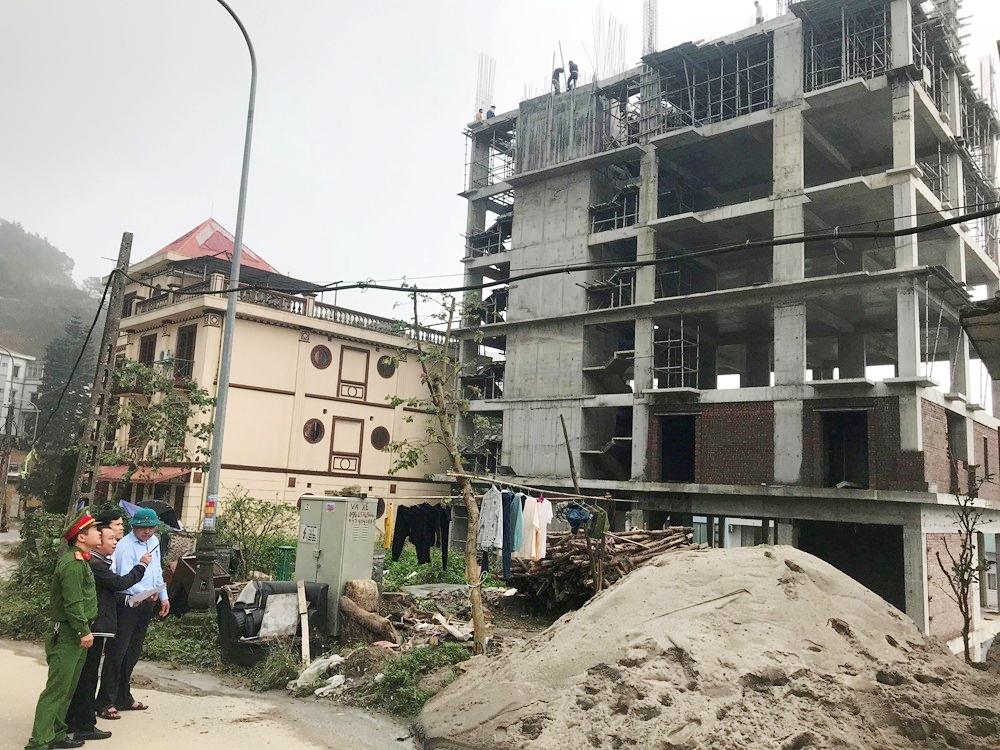 Vĩnh Phúc: Thị trấn Tam Đảo siết chặt quản lý trật tự xây dựng
