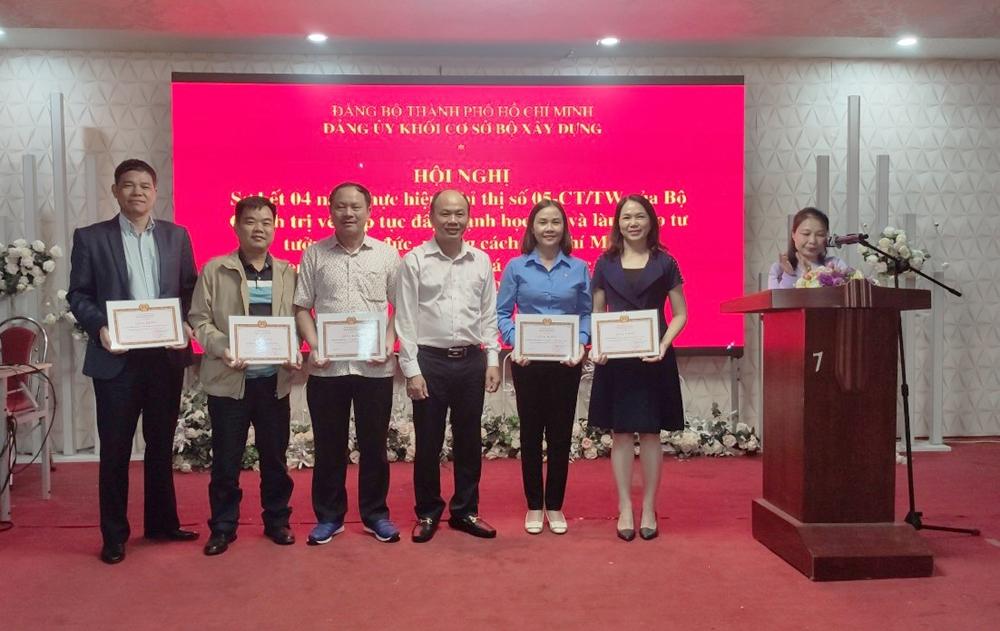 Đảng ủy Khối cơ sở Bộ Xây dựng tổ chức Hội nghị sơ kết 04 năm thực hiện Chỉ thị số 05-CT/TW tại Cao Bằng