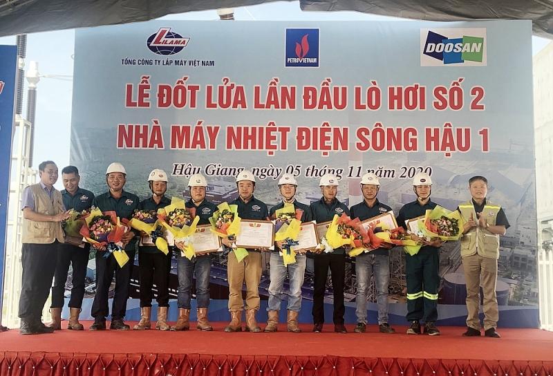 lilama khen thuong 9 tap the ca nhan