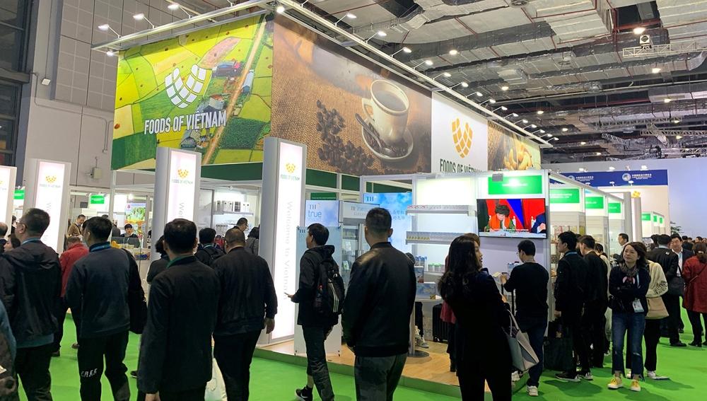 Việt Nam tham dự Hội chợ Nhập khẩu quốc tế Trung Quốc lần thứ 3