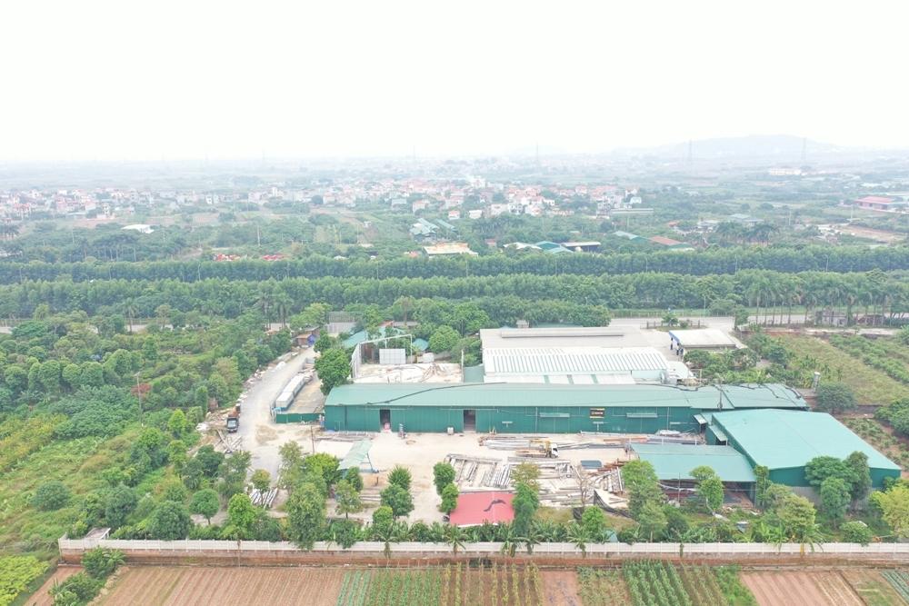 """Thông tin thêm về bài viết """"Hoài Đức (Hà Nội): Tràn lan nhà xưởng mọc trái phép trên đất nông nghiệp tại xã Song Phương"""""""