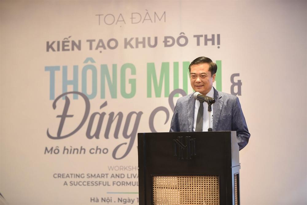 CEO Ecopark Nguyễn Công Hồng: Làm đô thị phải có người đến ở