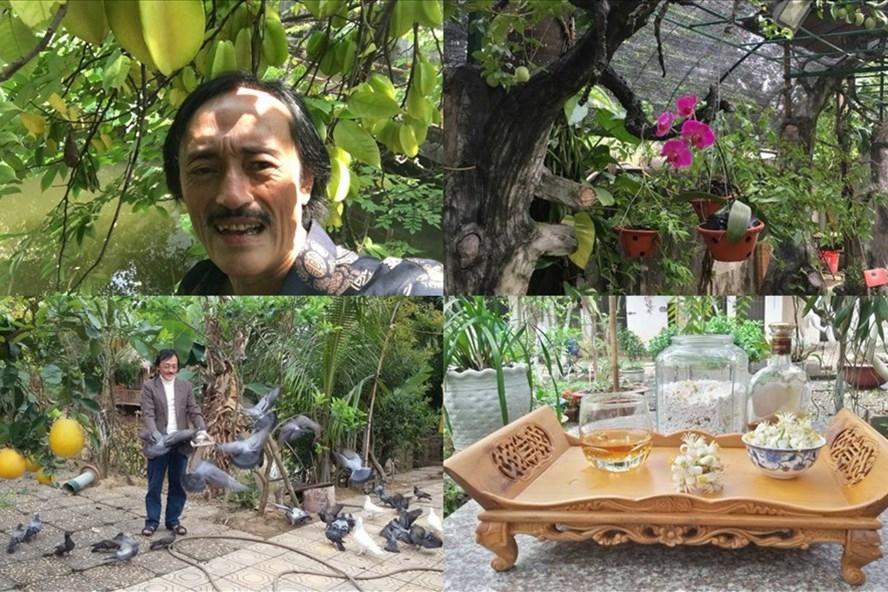 Cận cảnh cuộc sống điền viên của NS Giang Còi trong nhà vườn rộng 10.000m2