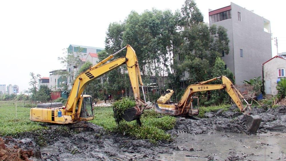 Việt Yên (Bắc Giang): Dự án Khu dân cư dịch vụ Đại Phúc chưa đủ điều kiện chuyển nhượng quyền sử dụng đất