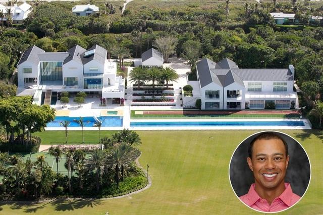 Choáng ngợp dinh thự đẳng cấp 1.200 tỷ đồng của huyền thoại golf thế giới