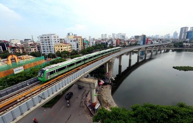 Đường sắt Cát Linh-Hà Đông chạy thử 20 ngày từ đầu tháng 12