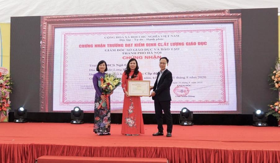 Long Biên (Hà Nội): Kỷ niệm 50 năm trường THCS Ngô Gia Tự