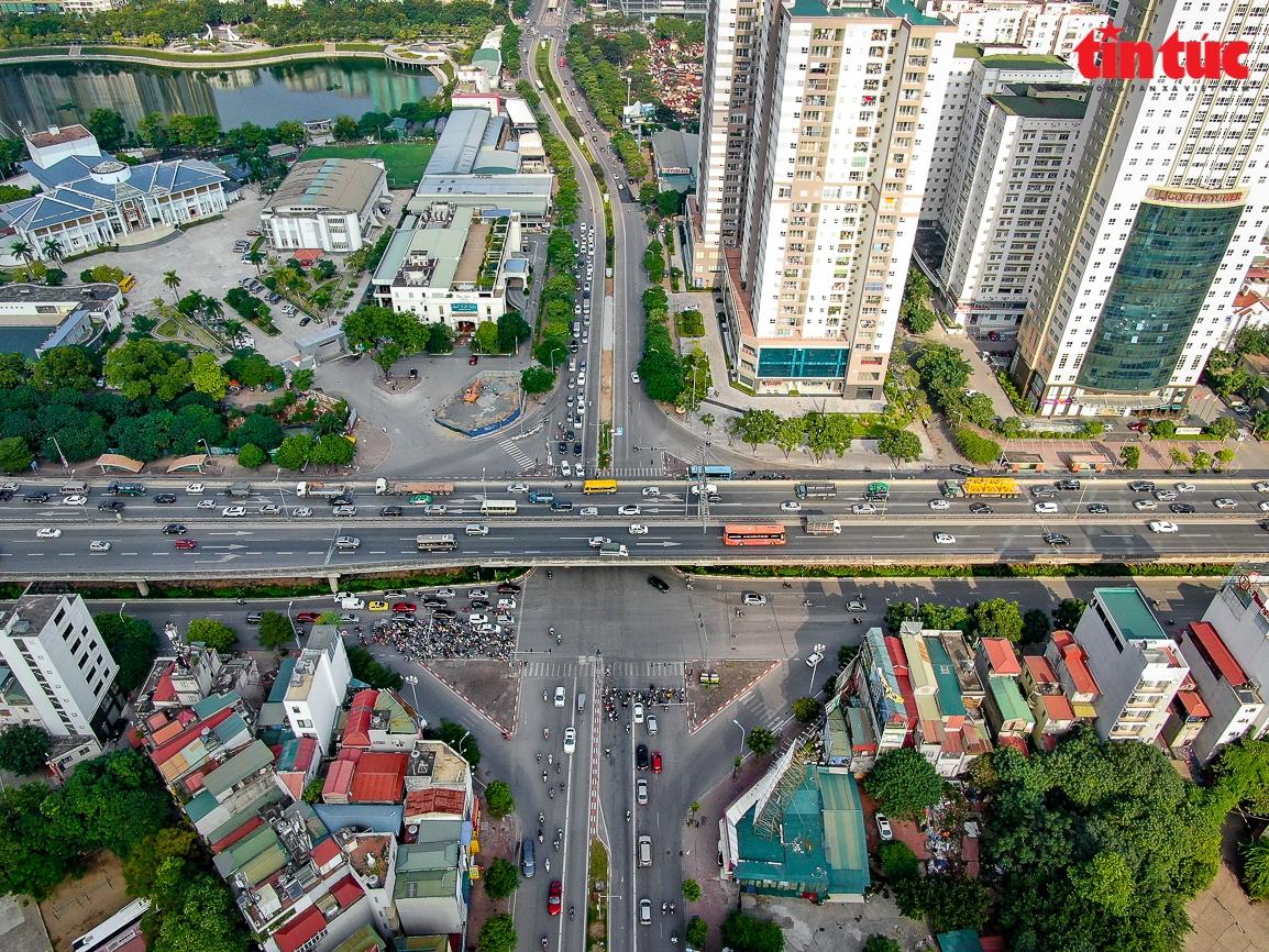 Hà Nội rào chắn thi công hầm chui Lê Văn Lương-Vành đai 3 trị giá 700 tỷ đồng
