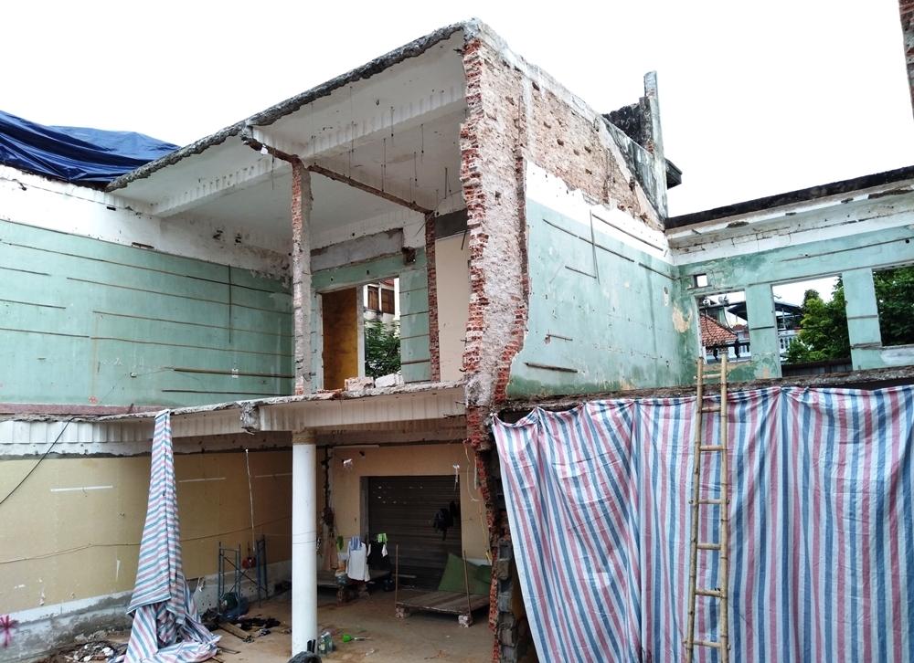 Hải Phòng: Tự ý phá dỡ nhà thuê thuộc sở hữu Nhà nước