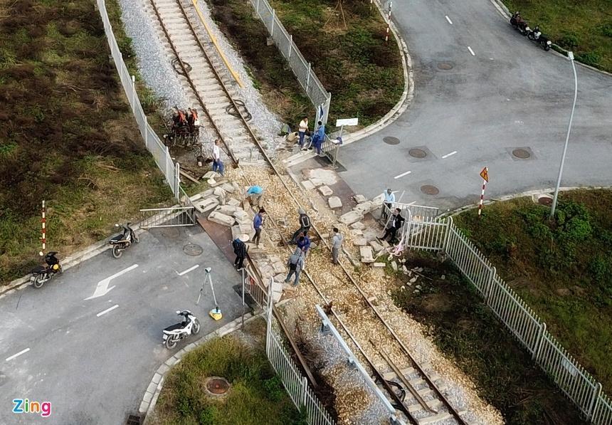 Đường sắt Cát Linh - Hà Đông trước ngày chạy thử
