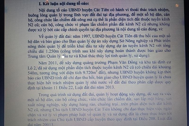 lam dong buong long de 12 can bo lan chiem dat cong
