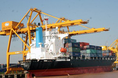 Cảng quốc tế Hải Phòng hoạt động từ giữa năm 2017